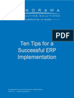 Ten Tips for a Successful ERP Implementation 2