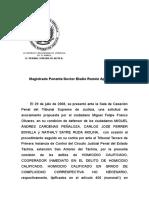 Magistrado Ponente Doctor Eladio Ramón Aponte Aponte Imputacion Material y Formal