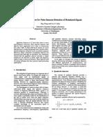 Quadratic Detectors for Noise