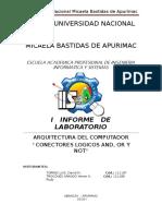 Informe Laboratorio i