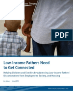 Low-Income Fathers Need to Get Connected