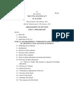 Civil Aviation Act, 2013