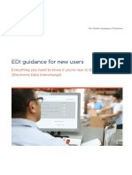 EDI Guidance for Newusers Brochure