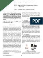 RFID in SCM