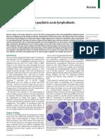 Bone-marrow Relapse in Paediatric Acute Lympho-blastic Leukaemia