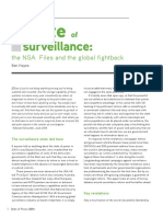 State of Surveillance Chapter