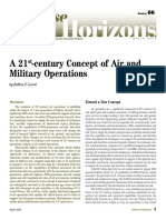 21st Century Concept of Air Military Operations