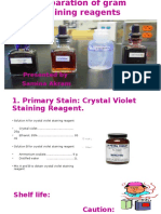 Preparation of Gram Staining Reagents