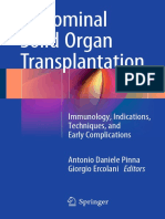 Antonio Daniele Pinna, Giorgio Ercolani (Eds.)-Abdominal Solid Organ Transplantation_ Immunology, Indications, Techniques, And Early Complications-Springer International Publishing (2015)