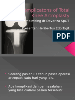 Complicatons of Total Knee Artroplasty