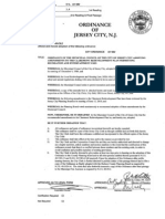 City Council First-Read Ordinances, 06/23/2010 - Jersey City