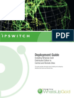 WhatsUp Gold v12.4 Distributed Deployment Guide