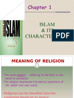 112236 81785 Chapter1-Islam&Characteristics