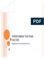 Overcoming the FEAR FACTOR