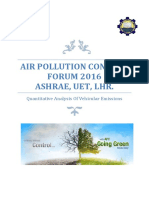 Air Pollution Control Forum 2016 Report