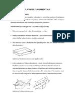 Flatness Fundamentals
