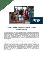 America Needs a Grandmother Lodge