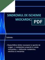Sindromul de Ischemie Miocardica (2)