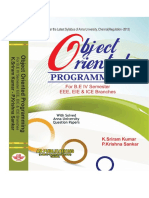 Object Oriented Programming for R-2013 by K. Sriram Kumar, P. Krishna Sankar