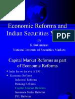 Eco Reforms& Indian Securities Market (2016)