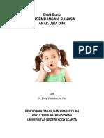 Pengembangan Bahasa Anak Usia Dini-libre