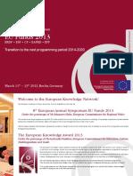 8th European Annual Symposium EU Funds 2013 DM