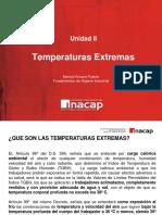 Unidad 2 Parte 5 - Temperaturas Extremas