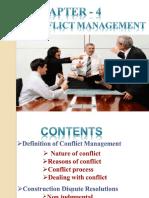 Lecture 12 Conflict Management
