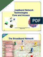 Broadband Network and Technologies PART1