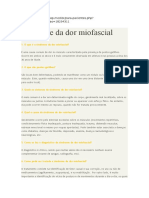 Síndrome Da Dor Miofascial