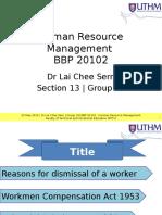 Presentation Human Resource Management