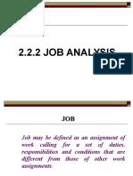 Lecture 3 Job Analysis