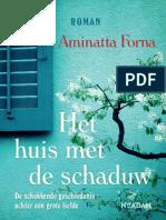 Aminatta Forna - Huis Met de Schaduw