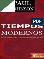 Paul Johnson-Tiempos Modernos