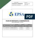 Plan de Respuesta a Emergencias Planta Concentradora