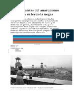 Anarquismo Español s.xx