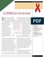 Le VIH SIDA SUR LE LIEU DE TRAVAIL.pdf