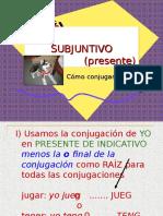 subjuntivo-presente-conjugaciones.ppt