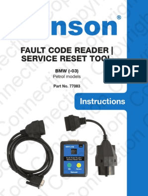 220802909-Bmw-Fault-Codes pdf   Ignition System   Throttle