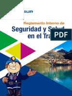 Reglamento Interno de SST -2015