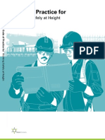 Code of Practice for Working Safely at Height