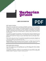 Barbarianprince Libro Eventos PDF