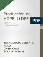 Producción de HDPE LLDPE