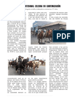 Guano Celebra 171 Años de Cantonización