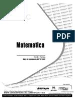Apostila de Matematica - Curso Aprovação