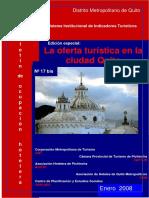 Boletin N 17bis La Oferta Turistica en Quito
