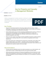 Critical Capabilities for Property and Casualty Insurance Claims Management Modules