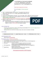Social Visa English