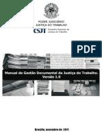 Manual de Gestao Documental Da Justica Do Trabalho
