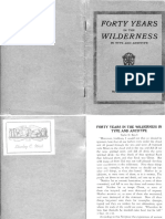 Forty Years in the Wilderness by Taylor Bunch